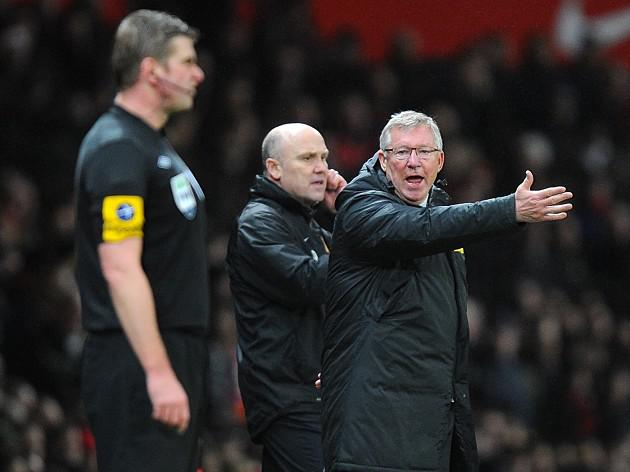 Manchester United boss Ferguson responds to Pardew criticism