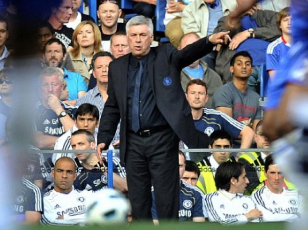 Chelsea boss Carlo Ancelotti rules out Roma job