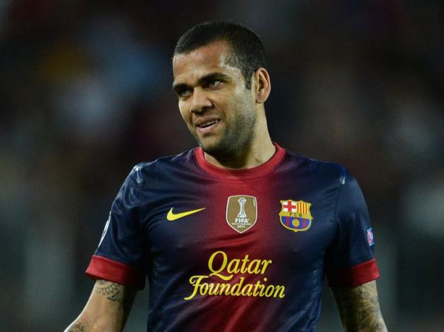 Alves offered to donate liver to Abidal