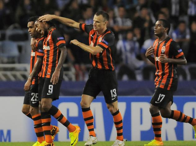 Teixeira ruins Sociedad Champions League return
