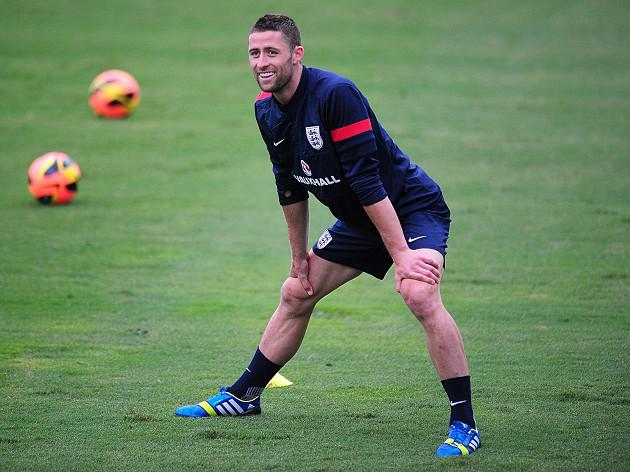 Cahill leaps to England defence