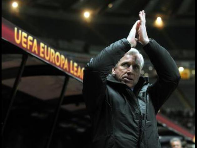 Newcastle boss Alan Pardew confident of European progress