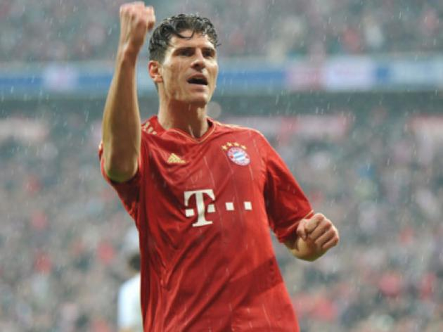 Champions League final star player: Mario Gomez - Bayern Munich