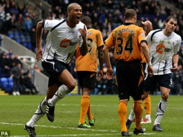 Bolton 1 Wolves 0: Coyle unearths Holdenballs and Knight has great day