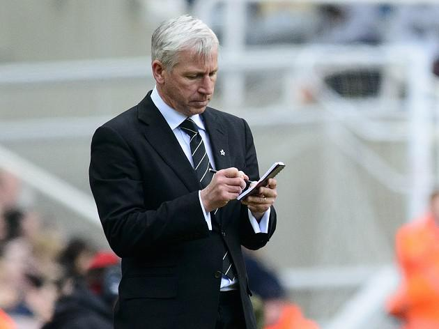Pardew issues challenge to Toon