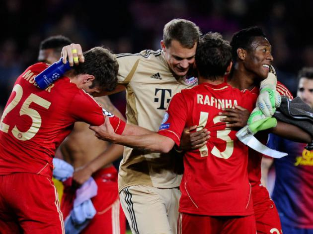 Bayern lift league title, Euro win expected