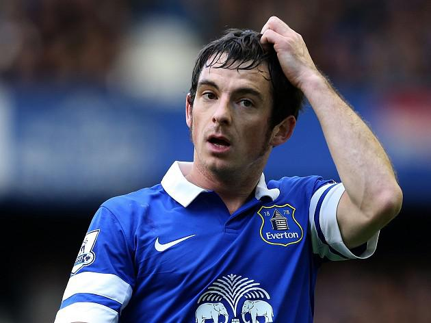 Everton 'won't rush Baines talks'
