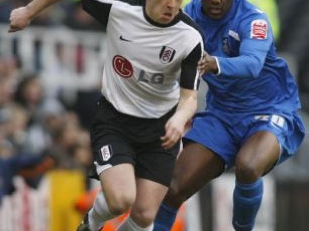 FULHAM v Birmingham: Nicky Shorey to jump back into side with Paul Konchesky on bench