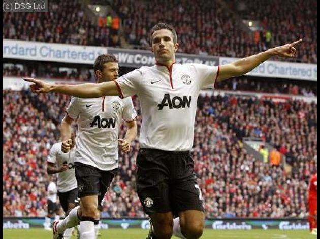 Robin van Persie wins second successive PFA Fans' Player of the Month award