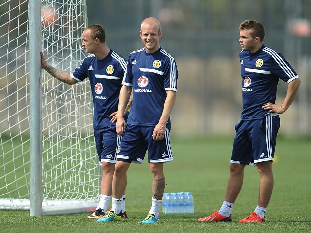 Steven Naismith happy for lone role