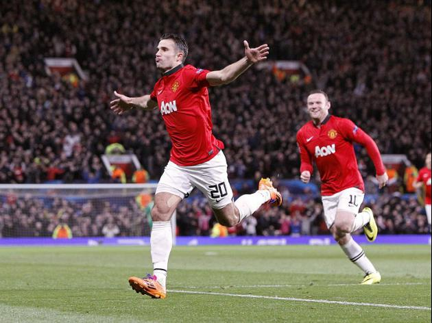 RVP treble secures United comeback