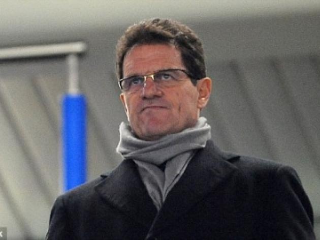That's my boy: Fabio Capello sees John Terry lead Chelsea into Champions League last eight