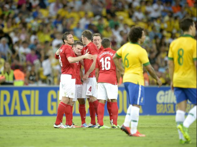 Why England Will Never Have as Talented Players as Brazil