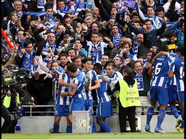 Portuguese league results 12/02/12