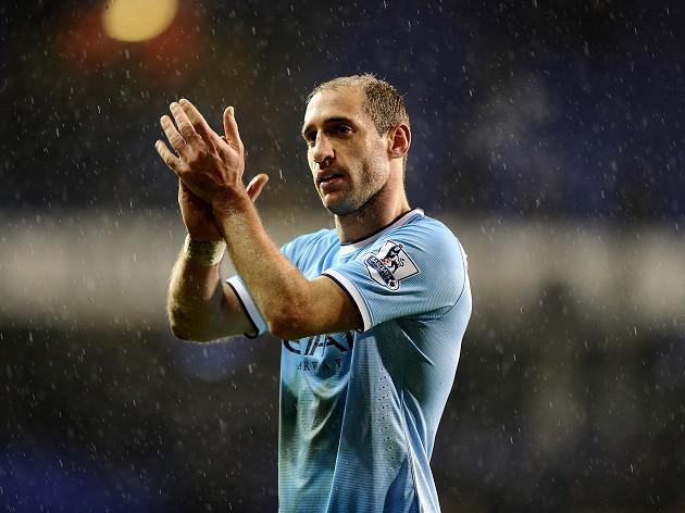 Zabaleta eager for Man City to go on the attack against Barcelona