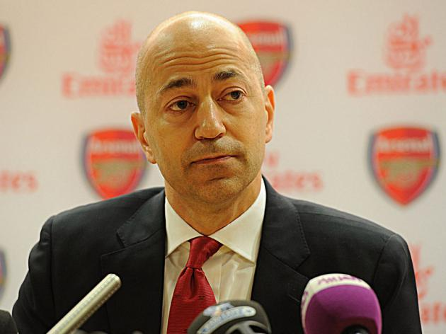 Arsenal ready to spend big, says Gazidis