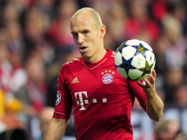 Bayern's Robben doesn't want to be one football's nearly men
