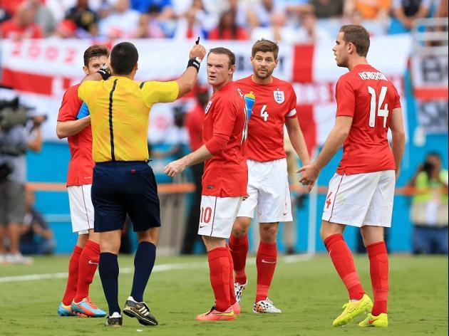 Storm disrupts England clash