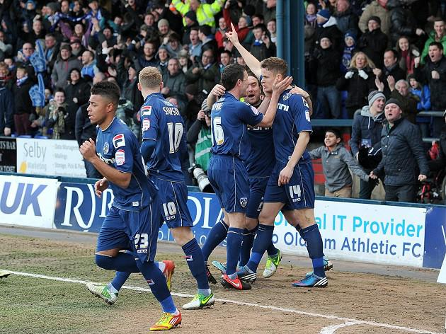 Oldham --- Liverpool: Report