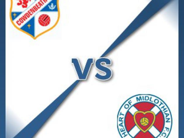 Cowdenbeath V Hearts at Central Park : Match Preview