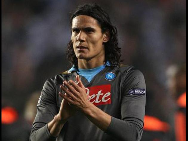 Napoli's Cavani admits he 'would favour Madrid move'