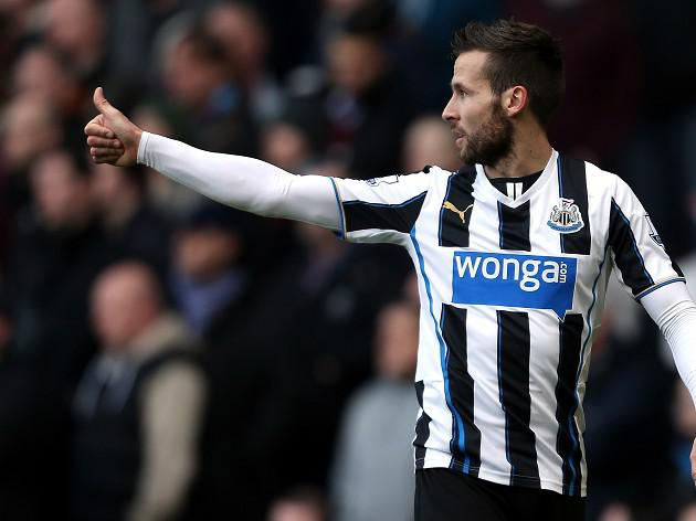 Newcastle's Cabaye in PSG's thoughts