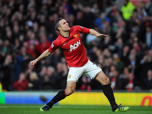 RVP sates title hunger with United