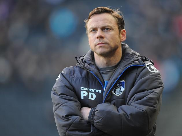 Oldham boss Dickov wants City showdown