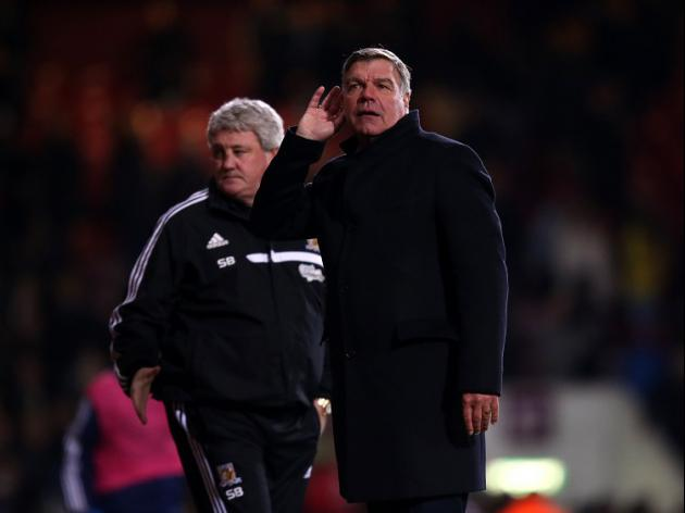Big Sam stunned by boos