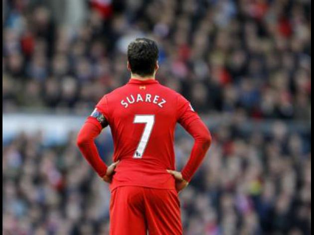 Rodgers insists striker Suarez is not for sale