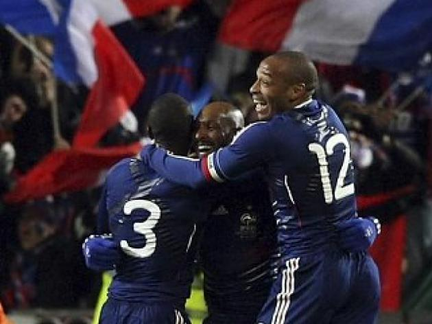 World Cup play-offs round-up - Anelka goal beats Ireland