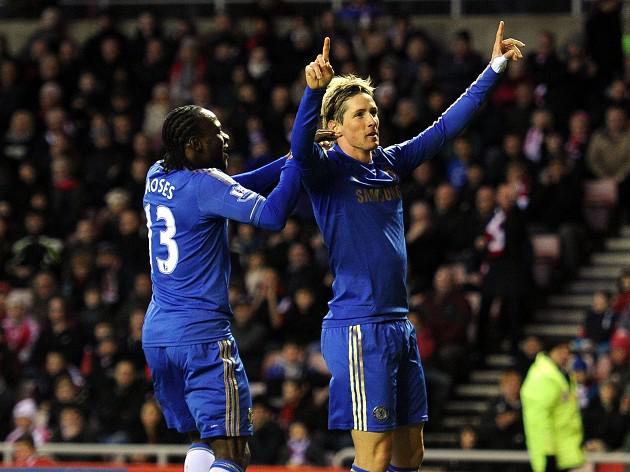 Torres brace gives Benitez Blues victory