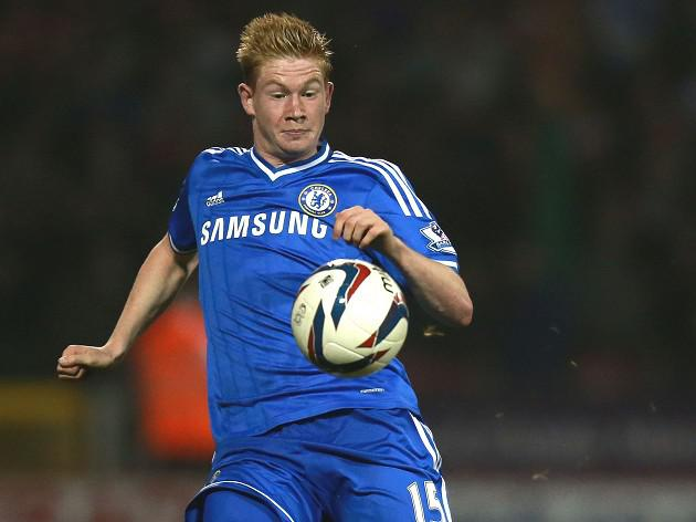 De Bruyne waits for Chelsea chance
