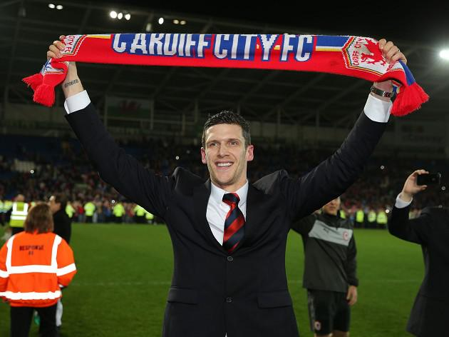 Cardiff captain Mark Hudson hails promotion to Premier League the best moment of career