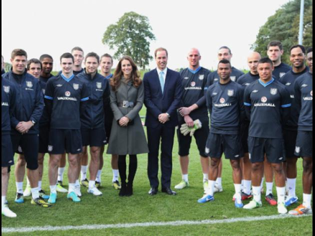 Royal approval for St George's Park