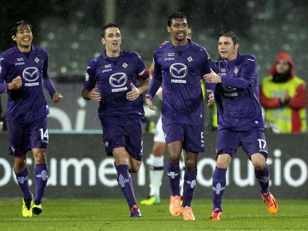 Fiorentina set up Udinese semi tie after Siena win