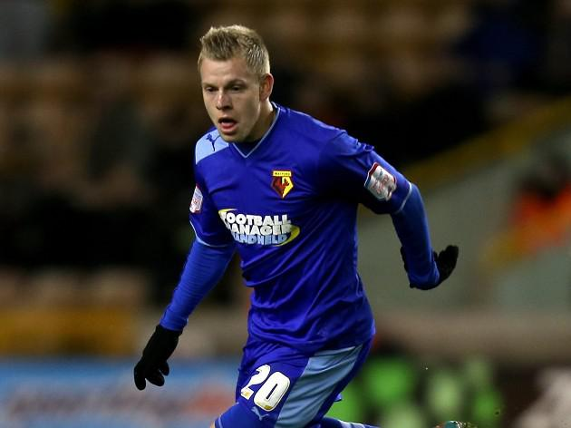 Watford striker Vydra wins Player of the Year award