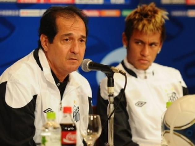 Neymar as good as Zico: Santos coach