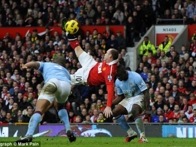 Was Wayne Rooney's wonder strike the greatest goal ever scored at Old Trafford?