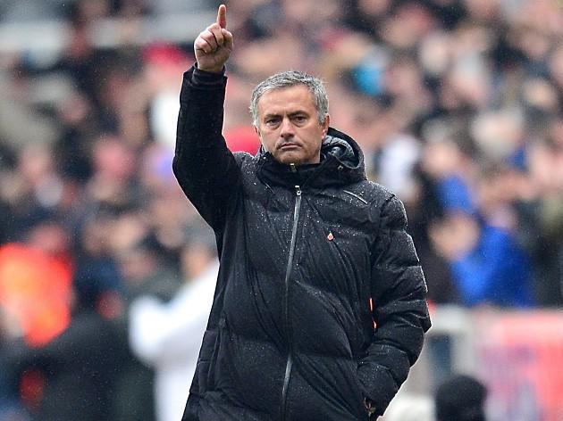 Mourinho relishing heat of battle