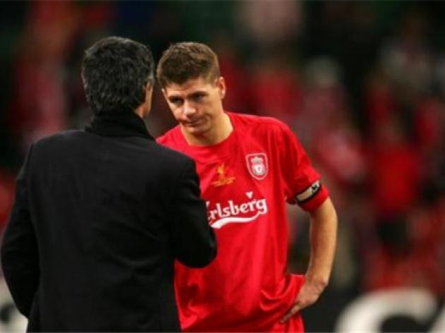 I want to play for Mourinho says Liverpool captain Steven Gerrard
