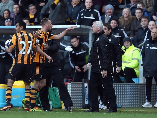 Police: No action over Pardew head-butt
