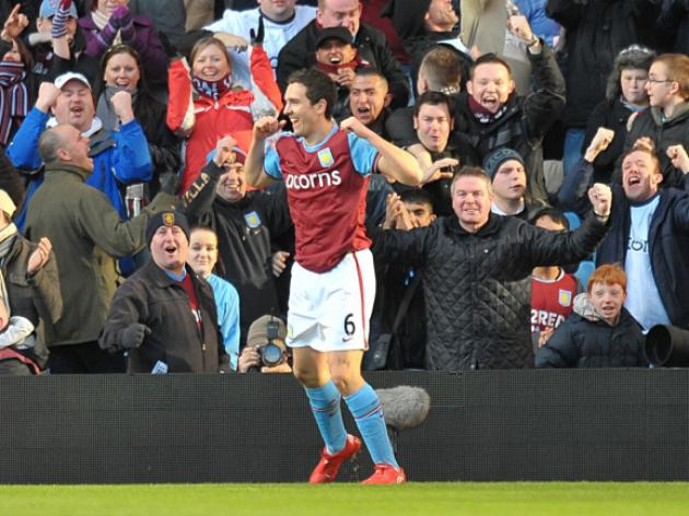 Aston Villa 5 Burnley 2 - Match Report