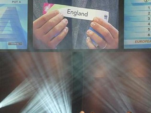 World Cup 2010 Countdown - Englands dream draw