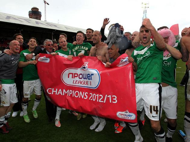 Doncaster crowned League One champions