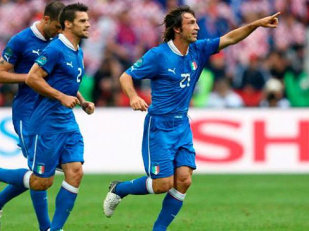 Peerless Pirlo poised to join 100 Club