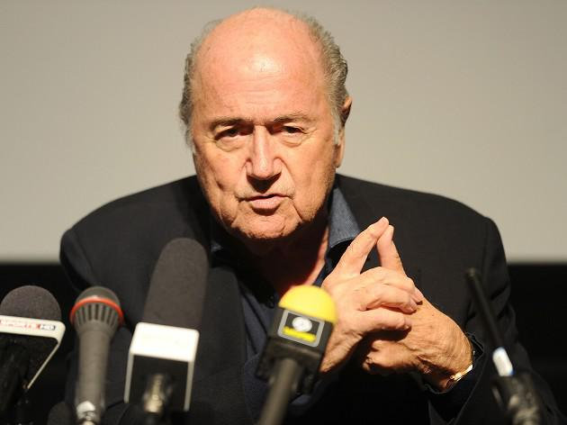 Blatter talks tough on diving
