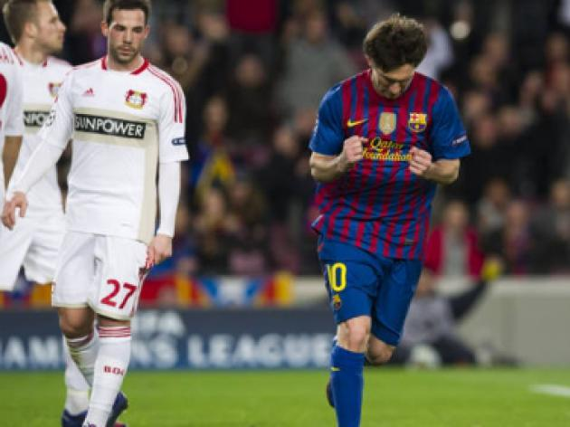 Top 10 Champions League games ever: 8 - Barcelona v Bayer Leverkusen