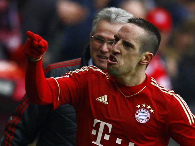 Settled Ribery in no rush over new Bayern deal