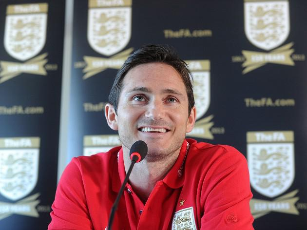 Lampard touched by name tribute